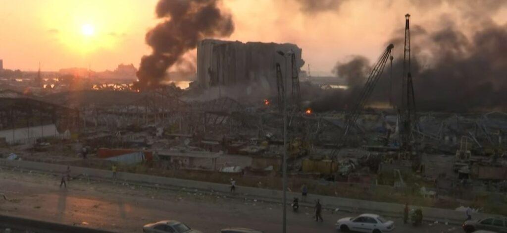 Grote explosie in Libanon is de volgende schakel in een kettingreactie van rampen