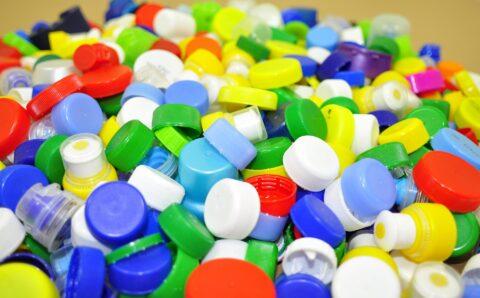 Eerste huis van plastic afval