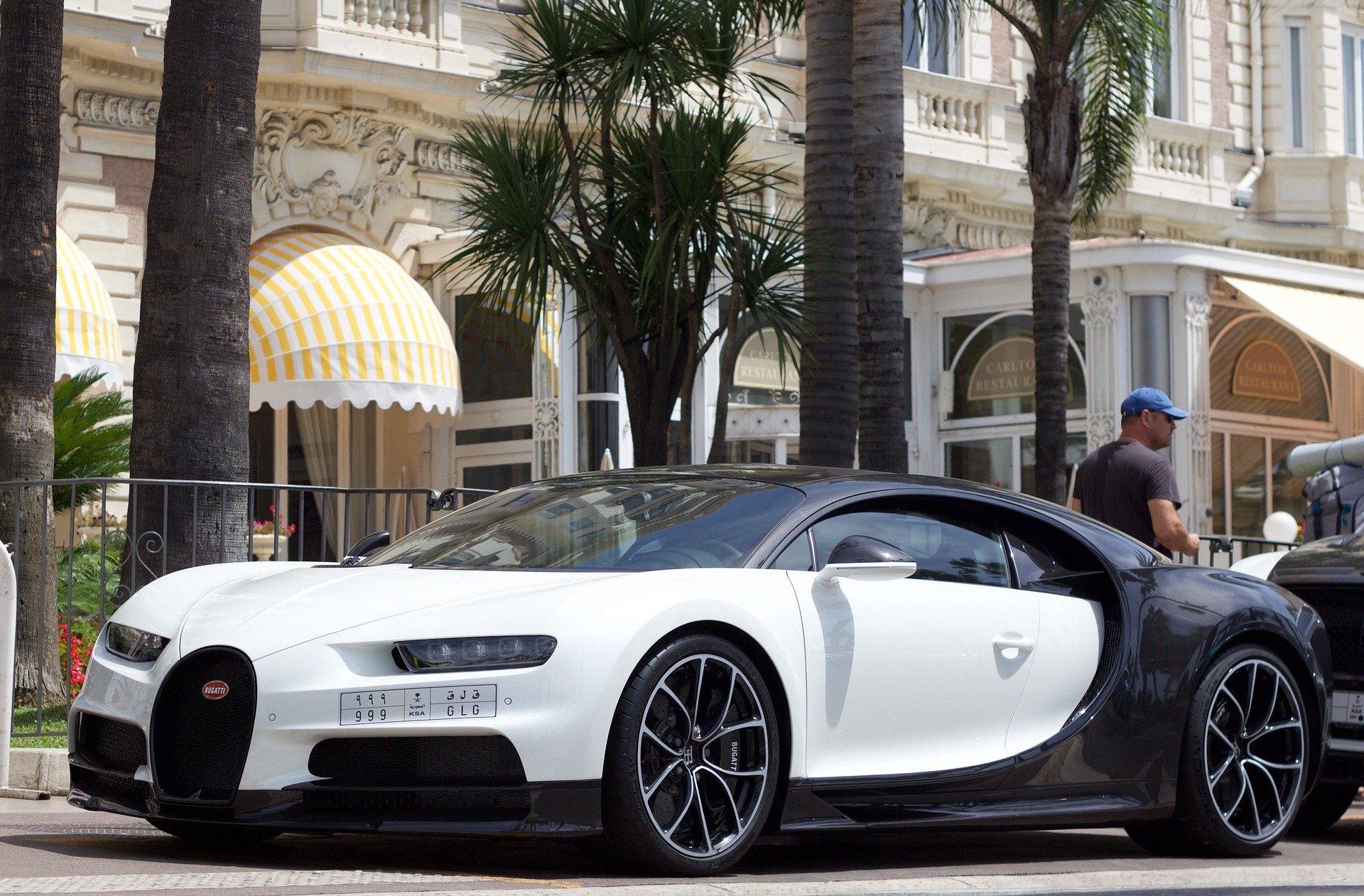 De leaseprijs van een Bugatti Chiron